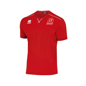 Swette Switters heren t-shirt-Everton rood front