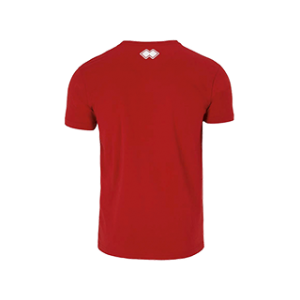 Swette Switters heren t-shirt Professional rood back