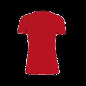 Swette Switters dames t-shirt Marion rood back